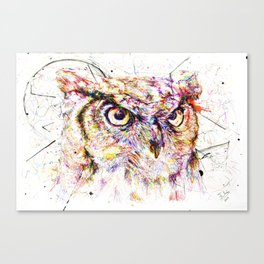 Owl // Ahmyo Canvas Print