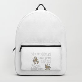 Christian Designs - No Worries, Look at the Birds Backpack