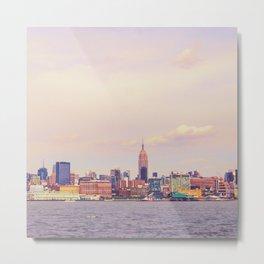 Perfect Day - New York City Skyline Metal Print