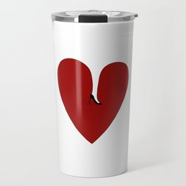 Heel my heart Travel Mug