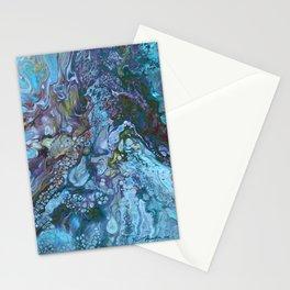 Organic Blues Stationery Cards