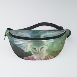"""Owl flight and spring night"" Fanny Pack"