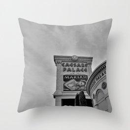 Caesars Palace ,Las Vegas, Sign Throw Pillow