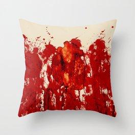 Blood Heart Throw Pillow