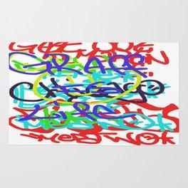 Graffiti Is Life Rug