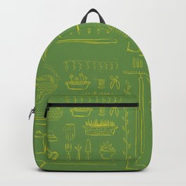 Gardening and Farming! - illustration pattern Backpack
