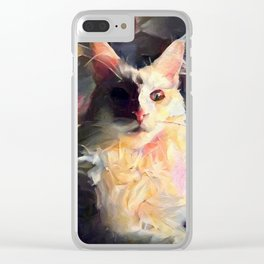 Drama Queen Clear iPhone Case