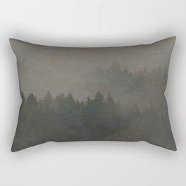 Autumn Moods Aged Photo Print Rectangular Pillow