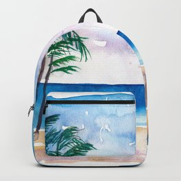 Key West Florida USA Southernmost Point of The USA Backpack