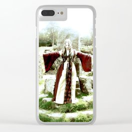 Scarred With Steel Clear iPhone Case