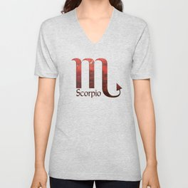 Scorpio Unisex V-Neck