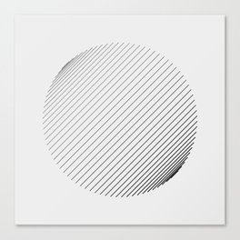 #571 line(trigonometric) Canvas Print