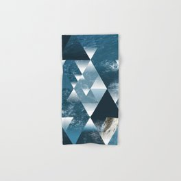 Abstract Geometric Sea Hand & Bath Towel