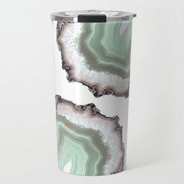 Light Water Agate Travel Mug