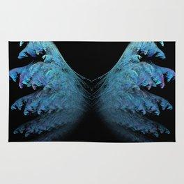 Blue wings Rug