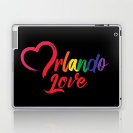 Heart Orlando Love Laptop & iPad Skin