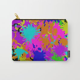 Splatoon Ink Fight Pattern Carry-All Pouch