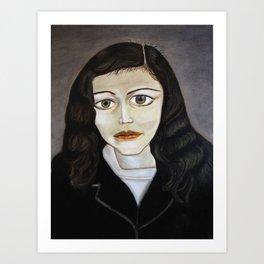 Lucian Freud Study 2014 Art Print