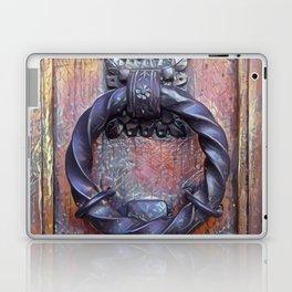 Venetian Door Knocker Laptop & iPad Skin