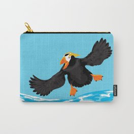Bering Sea Puffins Carry-All Pouch
