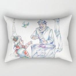 The chesnut-man Rectangular Pillow