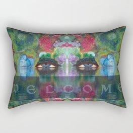 Welcome Sign 1 Rectangular Pillow