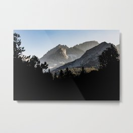 The View Up Little Lakes Valley Metal Print