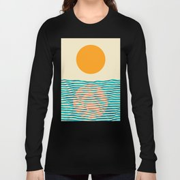 Ocean current Long Sleeve T-shirt