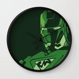 saudi iron man Wall Clock