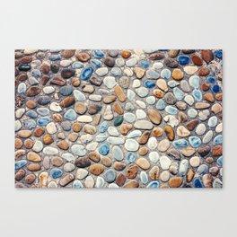 Pebble Rock Flooring V Canvas Print