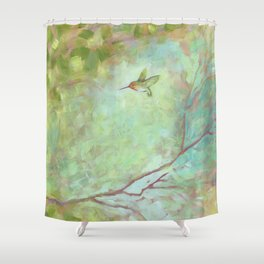 Forest Treasures Part B Shower Curtain