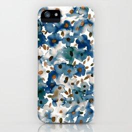 Georgia Floral Blue iPhone Case