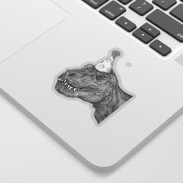Party Dinosaur Sticker
