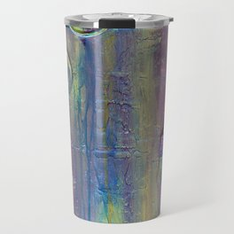Purple Artist Brushes Travel Mug