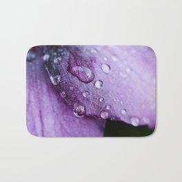 Winter flower Bath Mat