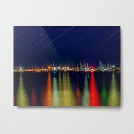 Lights. Metal Print