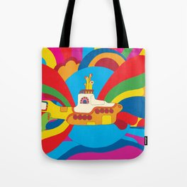 Yellow Submarine Tote Bag
