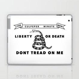 Culpeper Minutemen flag - Authentic version Laptop & iPad Skin