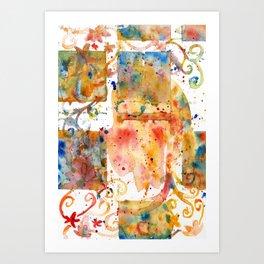 Watersplat - Series 2, 08 Art Print