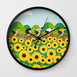 Le Tour I Wall Clock