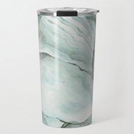 Aquamarine Stone Travel Mug