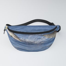 Dolphins Jumping Out of the Ocean Fanny Pack