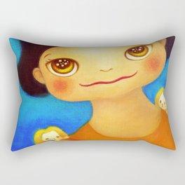 ORANGE RABBIT Rectangular Pillow