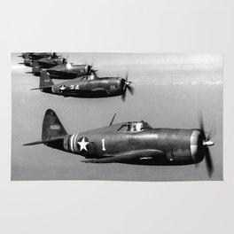 P-47 Thunderbolt Rug