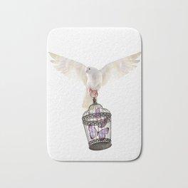 Even doves have pride Bath Mat