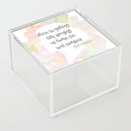 There is nothing like staying at home Jane Austen Acrylic Box