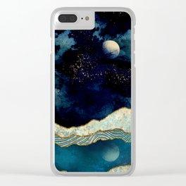 Indigo Sky Clear iPhone Case