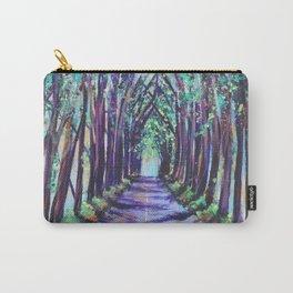 Kauai Tree Tunnel Carry-All Pouch