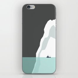 Feeling Small - Iceberg iPhone Skin