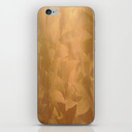 Beautiful Copper Metal - Corporate Art - Hospitality Art - Modern Art iPhone Skin